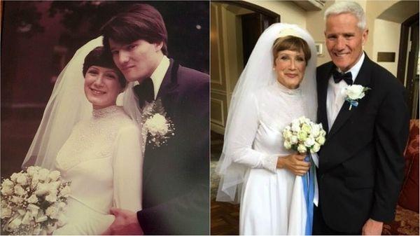 Linda and Scott Fairgrieve of Mineola, left,