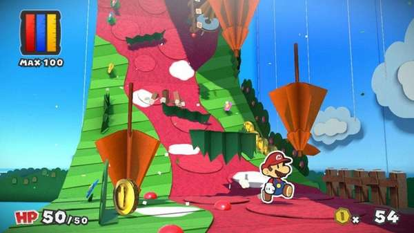 Paper Mario: Color Splash unleashes beautiful scenes from