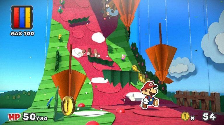 Paper Mario: Color Splash unleashes beautiful scenes from