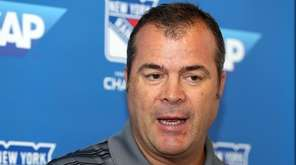 Rangers' head coach Alain Vigneault discusses the start