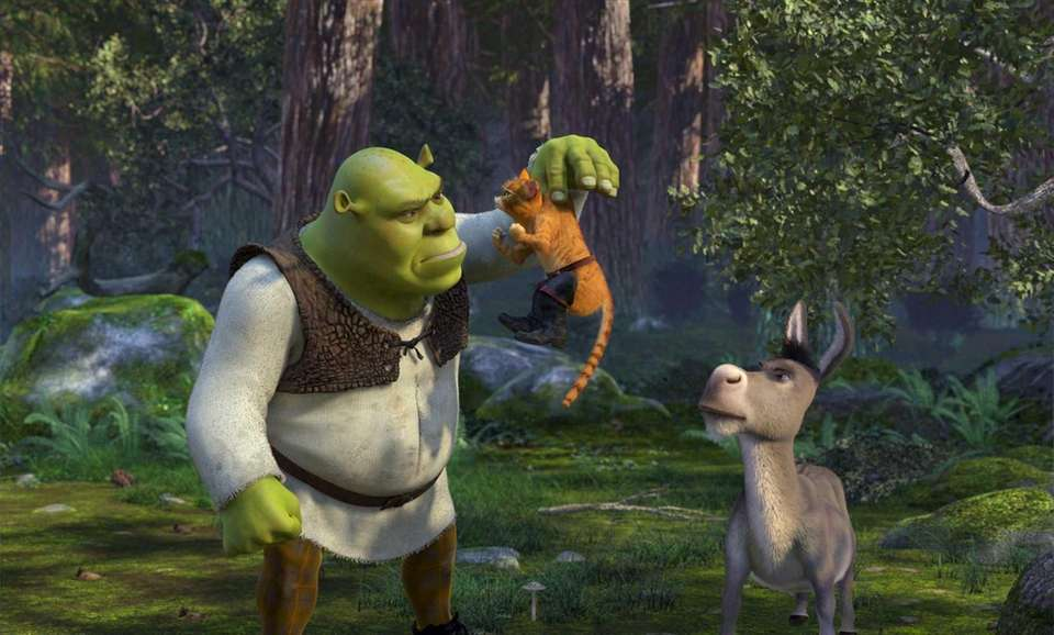 Shrek (2001), Shrek 2 (2004), Shrek the Third