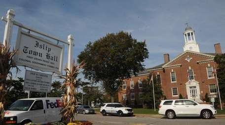 Real estate views of Islip Town Hall on