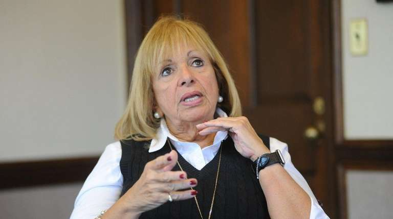 Islip Town Supervisor Angie Carpenter speaks about salaries