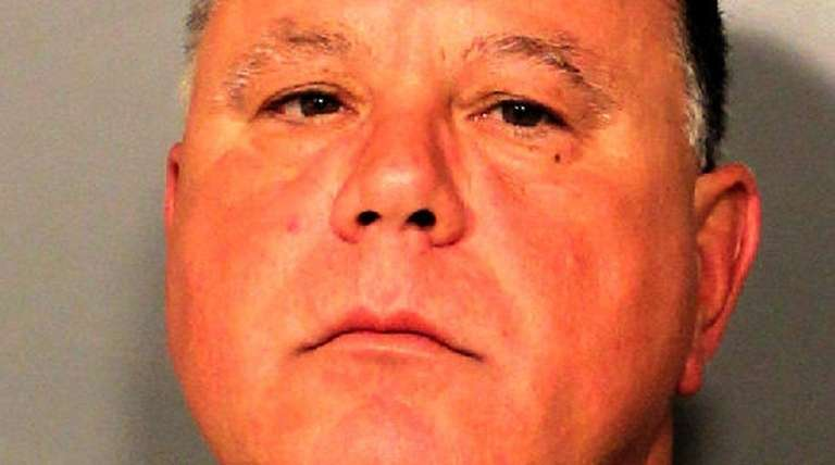 Andrew Parrucci, 57, of Amityville, was arrested late