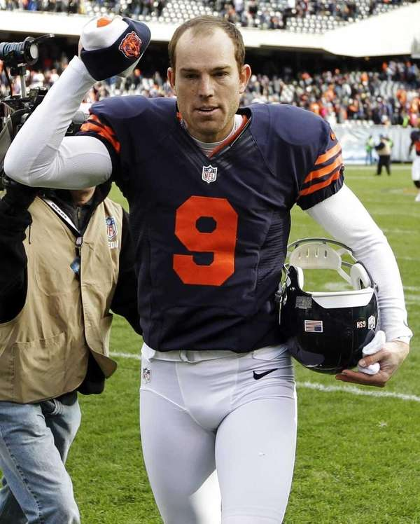 This photo is of former Chicago Bears' kicker