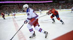 New York Rangers left wing Jimmy Vesey (26)