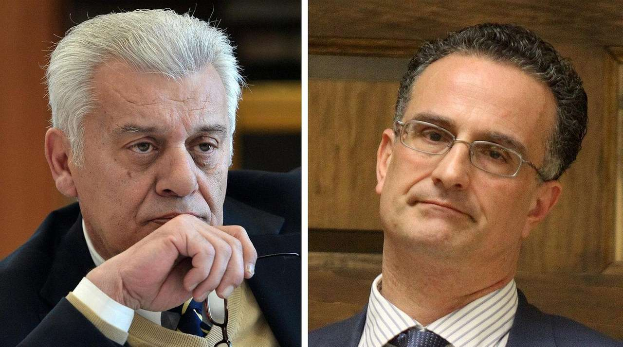 oyster bay councilman wants board to deputy supervisor newsday town supervisor john venditto left and town attorney