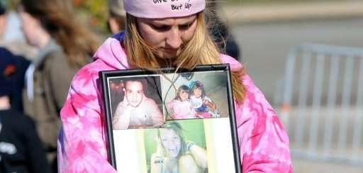 Cindy Richman, 23, of West Islip holds a