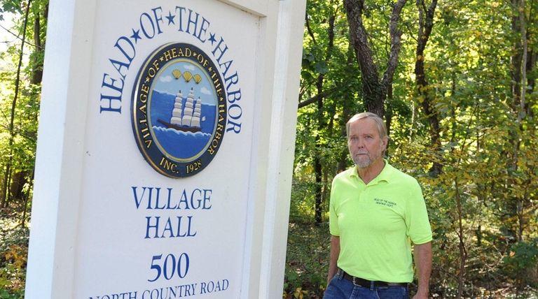 John Precht, the highway superintendent for the Head