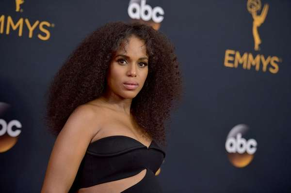 Kerry Washington, who recently gave birth to a