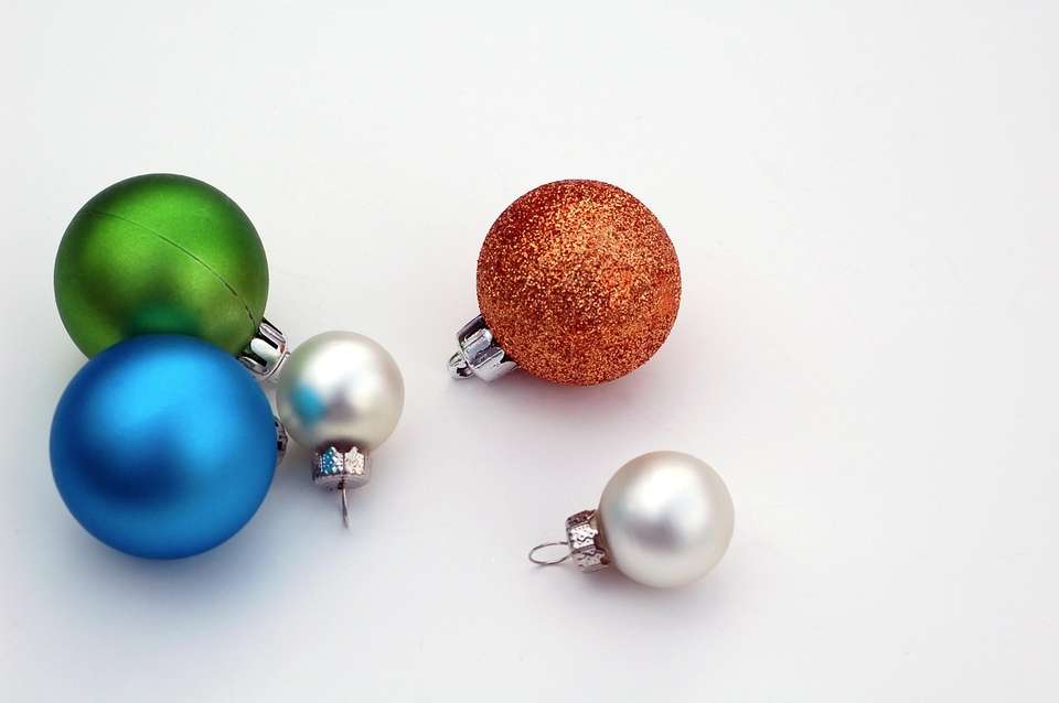 Holiday decorations are often cheaper after the holidays