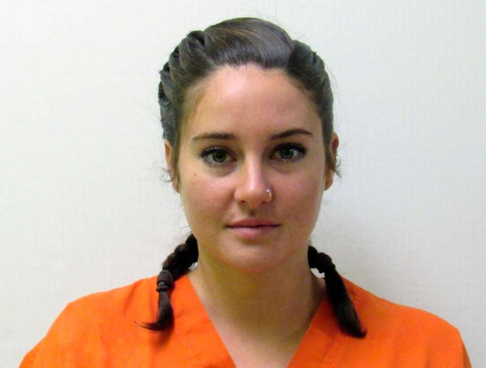 Actress Shailene Woodley, known from her roles in