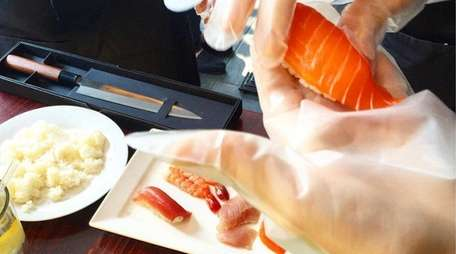 Learn to roll your own sushi at Kashi