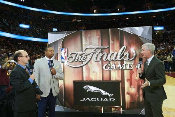 From left, Jeff Van Gundy, Mark Jackson and