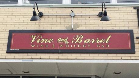 Vine & Barrel in Farmingdale has closed.