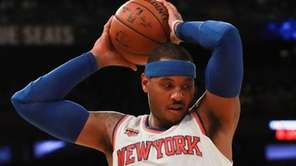 Carmelo Anthony begins the season as the