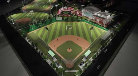 A rendering of the proposed sports complex at