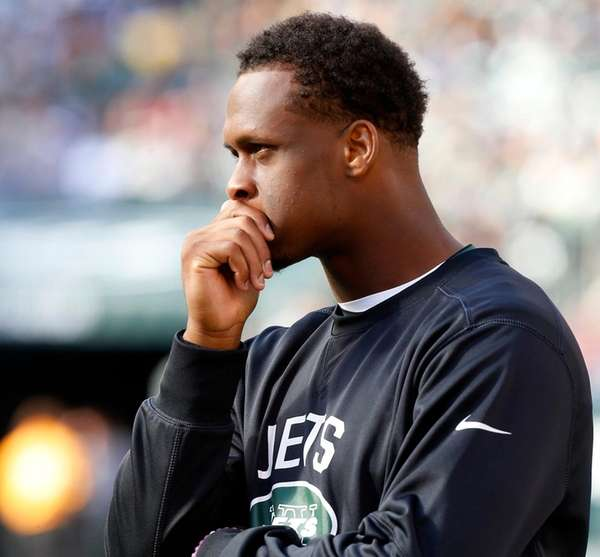 Geno Smith of the New York Jets looks