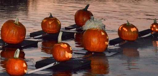 Celebrate Halloween early by bringing your carved pumpkin
