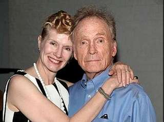 Martha Rogers with husband Dick Cavett in August