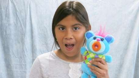 Kidsday reporter AnaMaria Perdomo from Lawrence Elementary School