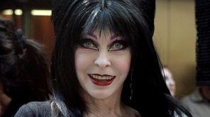 Cassandra Peterson's bewitching as Elvira, Mistress of the