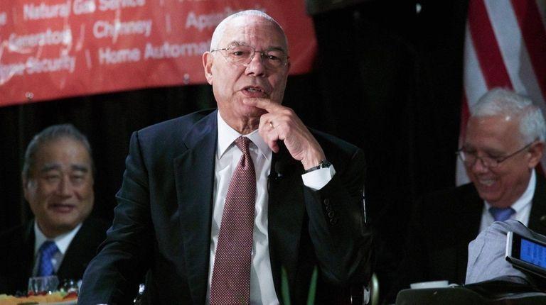 Former U.S. Secretary of State Colin Powell, a