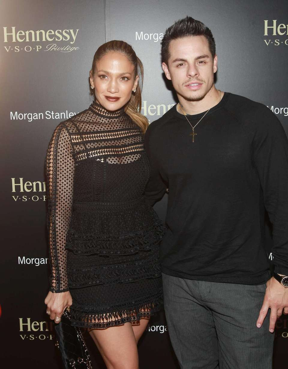 Singer Jennifer Lopez and boyfriend Casper Smart are