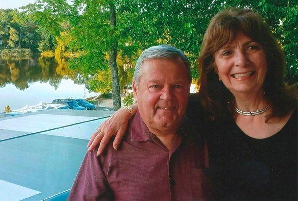 Dennis and JoAnn Harrington of Fort Salonga celebrated