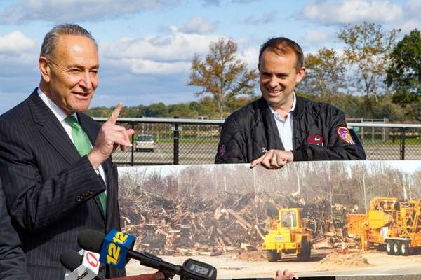 Sen. Chuck Schumer is pressing FEMA not to