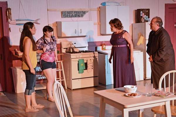 From left, Gabrielle Marie, Sinead Atkinson, Joan St.