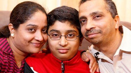Sanketh Kumar, who was running in gym glass