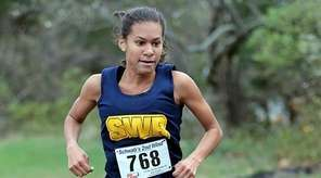 Shoreham-Wading River's Katherine Lee wins the Suffolk girls