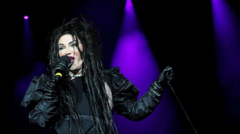 Pete Burns of the band Dead or Alive