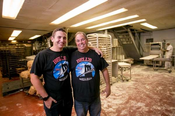 Jared and Warren Bell of Bagels by Bell