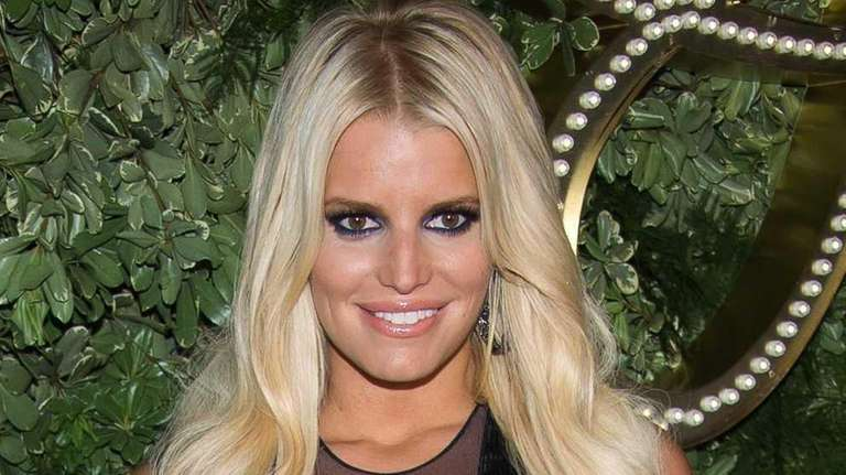 Jessica Simpson celebrates the 10th anniversary of the