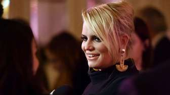 Singer and designer Jessica Simpson attends QVC's