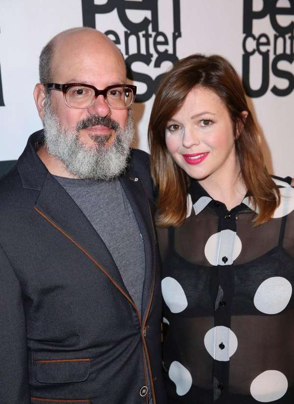 David Cross and Amber Tamblyn celebrated their fourth