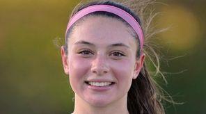 Rachel Florenz of East Islip after her team's