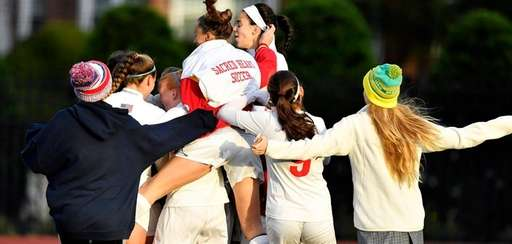 Sacred Heart girls soccer team is excited after
