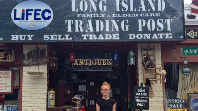Kidsday reporter Sarah Tuzzolo of Merrick encourages people