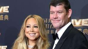 Mariah Carey and her fiance, James Packer, have