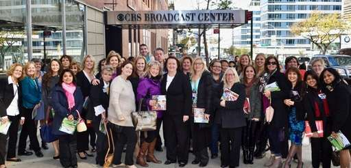 A group of Northwell Health nurses attended a