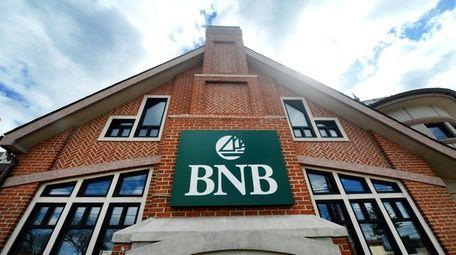 Bridgehampton National Bank in Merrick is seen on