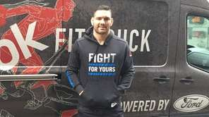 UFC middleweight fighter Chris Weidman, from Baldwin, appeared