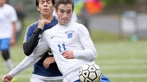 Sam Pelcher scored three goals in Portledge's 3-1