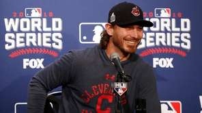 Cleveland Indians Game 3 starting pitcher Josh Tomlin