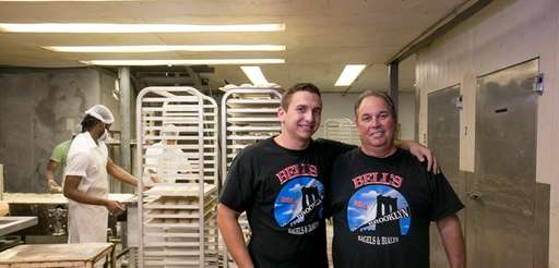 Jared and Warren Bell, of Bagels by Bell,