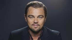 American actor Leonardo DiCaprio in Manhattan on Dec.