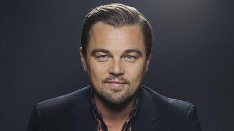 American actor Leonardo DiCaprio in Manhattan on Dec.
